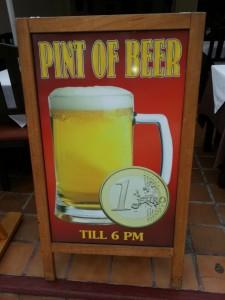 בירה זולה בטנריף