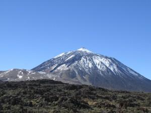 הר הטיידה מושלג - פארק הטיידה טנריף